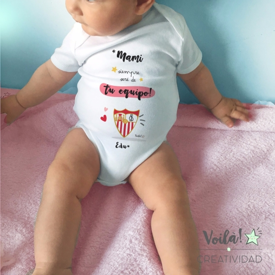 Body bebe personalizado sevilla futbol