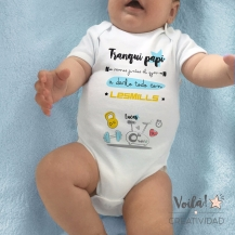 Body bebe personalizado lesmills gym papi