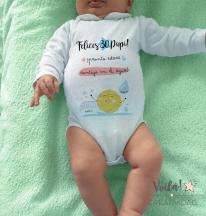 Body personalizado felices 30 papi waterpolo