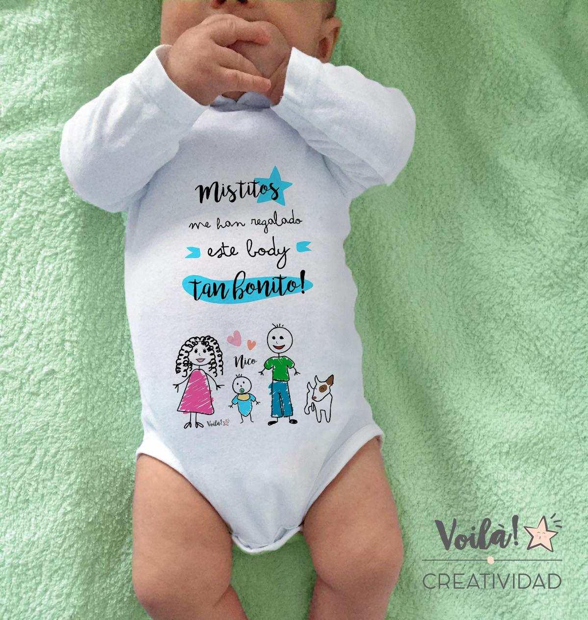 Body personalizado familia titos