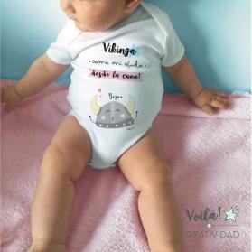 Body personalizado vikinga real madrid merengue