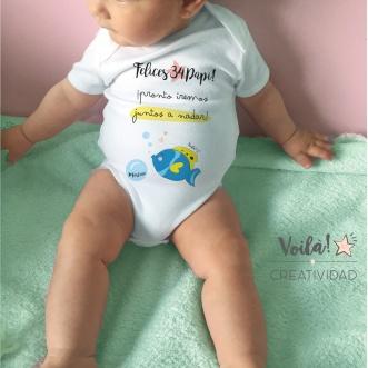 Body personalizado papa natacion
