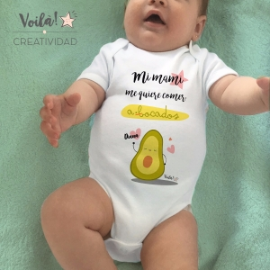 Body personalizado mami aguacate