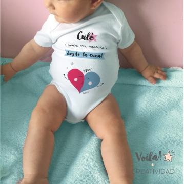 Body bebe personalizado culé barsa