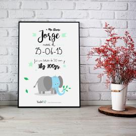 llamina infantil elefante voila creatividad
