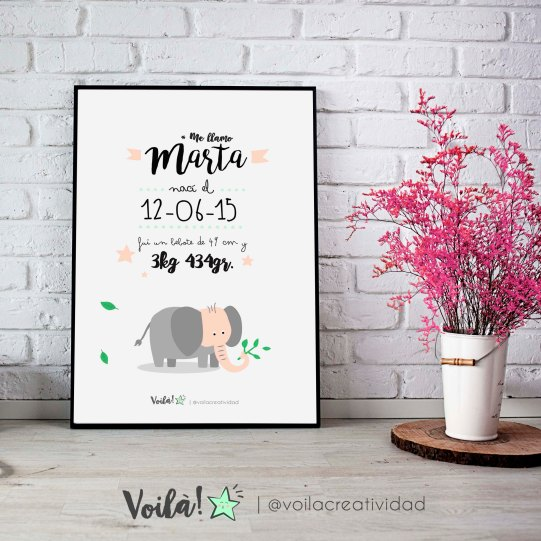 llamina nacimiento jirafa marta voila creatividad