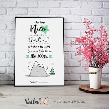 llamina nacimiento NICO montaña voila creatividad