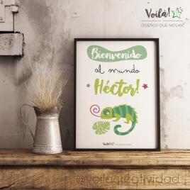 Bienvenido al mundo camaleon Héctor