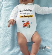 Body personalizado bebe campeon moto marquez