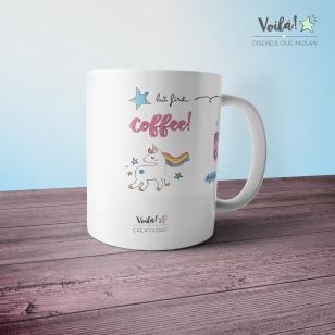Taza mug cafe personalizada unicronio