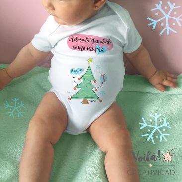 Body arbol navidad bebe regalo