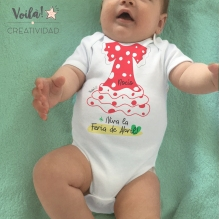 Body bebe sevillana feria abril
