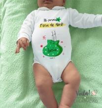 Feria de abril sevilla body bebe castanuelas