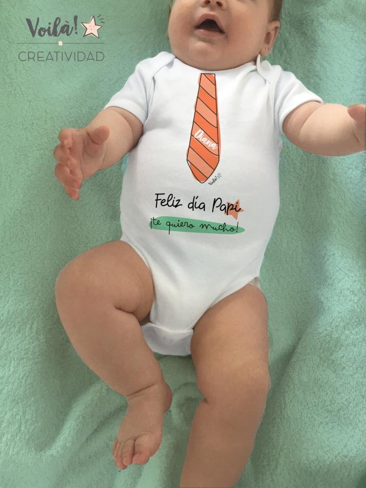 Body bebe feliz dia padre corbata regalo