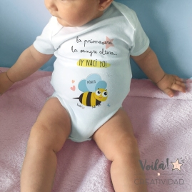 Body primavera bebe abejita personalizado (1)