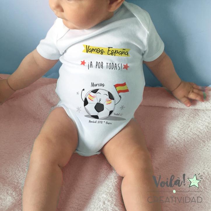 body bebe mundial vamos espana seleccion mundial