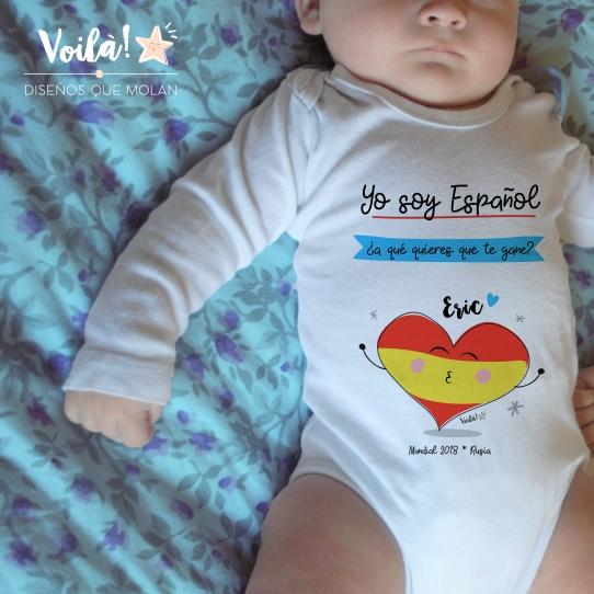 body bebe soy espanol deporte que quieres gane mundial